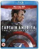 Captain America: First Avenger 3D BD [Blu-ray] [Region Free]