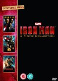 Iron Man 1-3 Complete Collection [DVD]