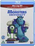 Monsters University (Blu-ray 3D + Blu-ray) [Region Free]