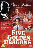 Edgar Wallace present: Five Golden Dragons [DVD]