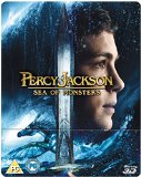 Percy Jackson: Sea of Monsters - Limited Edition Steelbook (Blu-ray 3D + Blu-ray + UV Copy)