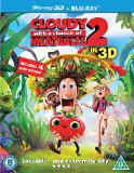 Cloudy With A Chance Of Meatballs 2: Revenge of the Leftovers [Blu-ray + Blu-ray 3D] [2013]
