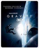 Gravity - Limited Edition Steelbook [Blu-ray 3D + Blu-ray + UV Copy] [Region Free]