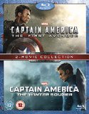 Captain America/Captain America: The Winter Soldier Double Pack [Blu-ray]
