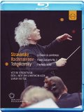 Various: Rattle Conducts (Nutcracker/ Piano Concerto No.3/ Sacre Du Printemps) [Blu-ray] [2010]