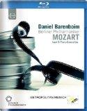 Mozart: Piano Concertos: Barenboim (Last 8 Piano Concertos) (Euroarts: 2066094) [Blu-ray] [2012][Region Free]