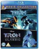 Tron Original & Tron Legacy BD [Blu-ray] [Region Free]