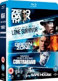 Lone Survivor / Zero Dark Thirty / Safe House / Green Zone / Contraband Box Set [Blu-ray] [Region Free]