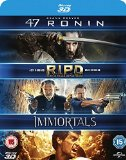 47 Ronin 3D / RIPD 3D / Immortals 3D (Triple Pack) [Blu-ray] [Region Free]