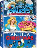Arthur Christmas/The Smurfs: A Christmas Carol/The Swan... [DVD]