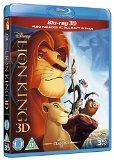 The Lion King 3D BD Retail [Blu-ray] [Region Free]