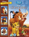 The Lion King 1-3 BD Retail [Blu-ray] [Region Free]