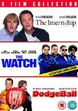 The Internship/ The Watch/ Dodgeball [DVD]