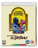 The Abominable Dr Phibes [Blu-ray] Blu Ray