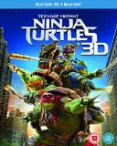 Teenage Mutant Ninja Turtles Blu-ray 3D [Region Free]