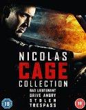 Nicholas Cage 4 Film Pack [Blu-ray] [2015]