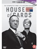 House Of Cards: Season 1 And 2 [DVD]