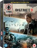 Chappie/District 9/Elysium [DVD]