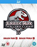 Double Pack: Jurassic Park 3D + Jurassic World 3D [Blu-ray] [2015]