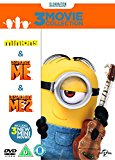 Minions Collection (Despicable Me/Despicable Me 2/Minions) DVD