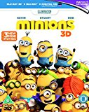 Minions (Blu-ray 3D + Blu-ray + UV Copy) [2015] Blu Ray