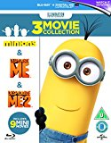 Minions Collection (Despicable Me/Despicable Me 2/Minions) [Blu-ray] [2015] Blu Ray