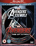 Avengers Age Of Ultron/Avengers Assemble Doublepack [Blu-ray 3D] [2015]
