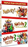 Nativity Triple (Nativity!/Nativity 2: Danger in the Manger/Nativity 3: Dude, Where's My Donkey?!) [DVD] [2015]