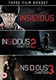 Insidious Triple: Insidious/Insidious 2/Insidious 3 [DVD]