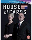 House of Cards - Season 1-3 [Blu-ray] [Region A & B]