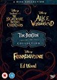 Tim Burton 4DISC DVD Boxset