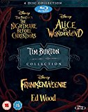Tim Burton 4 Movie Collection [Blu-ray] [Region Free]