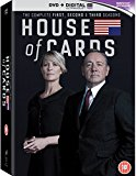 House of Cards - Season 1-3 DVD