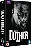 Luther - Series 1-4  [2015] DVD
