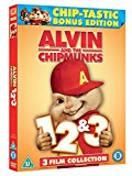 Alvin And The Chipmunks 1-3 [DVD]