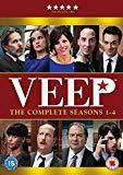 Veep - Season 1-4 [DVD] [2016]