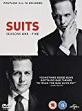 Suits: Seasons 1-5 [DVD]