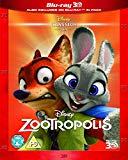 Zootropolis [Blu-ray 3D + Blu-ray] [2016]