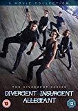Divergent/Insurgent/Allegiant [DVD] [2016]
