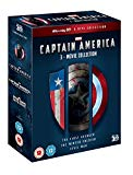Captain America: 3-Movie Collection (Blu-ray 3D)