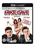 Mike and Dave Need Wedding Dates (4K Ultra HD Blu-ray + Blu-ray + Digital HD UV Copy)
