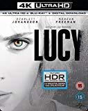 Lucy (4K UHD Blu-ray + Blu-ray + UV Copy) [2014]