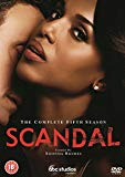 Scandal: The Complete Fifth Season DVD