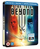 Star Trek Beyond Steelbook (Blu-ray 3D + Blu-ray + Digital Download) [2016]