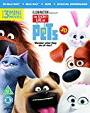 The Secret Life Of Pets (Blu-ray 3D + Blu-ray + Digital Download) [2015]