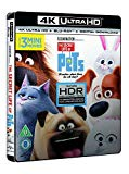 The Secret Life of Pets (4K UHD Blu-ray + Blu-ray + Digital Download) [2015]