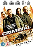 Criminal [DVD] [2016]
