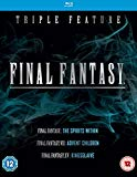 Final Fantasy Triple (Kingsglaive: Final Fantasy XV, Final Fantasy: The Spirits Within, Final Fantasy VII: Advent Children)  [Blu-ray] [Region A & B & C]