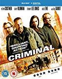 Criminal [Blu-ray] [2016]