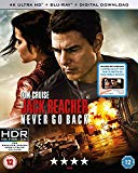 Jack Reacher: Never Go Back (4K UHD Blu-ray + Blu-ray + Digital Download) [2016] Blu Ray